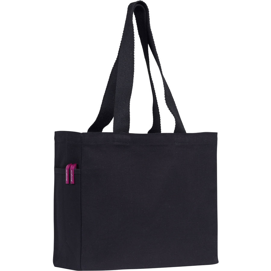 10582: Cranbrook 10oz Black Cotton Canvas Tote bag