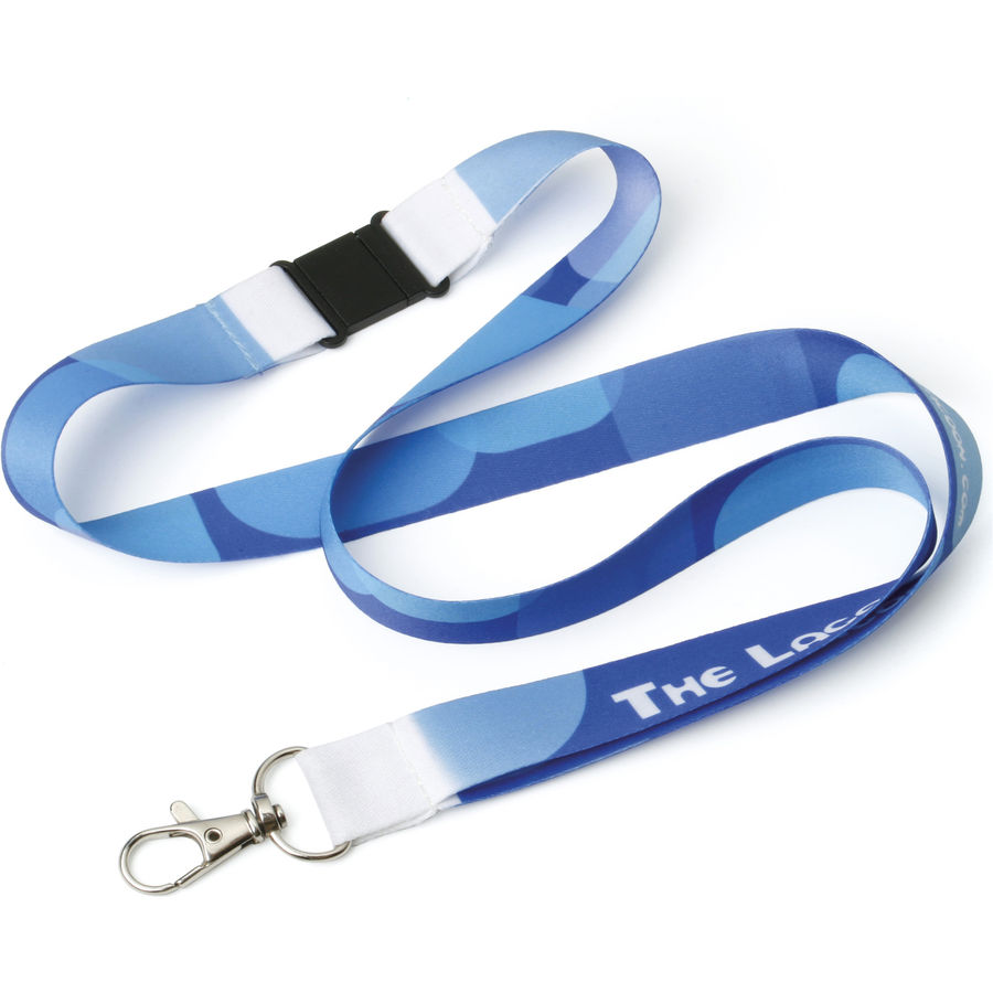 10763: 20mm Dye Sublimation Lanyard UK Express