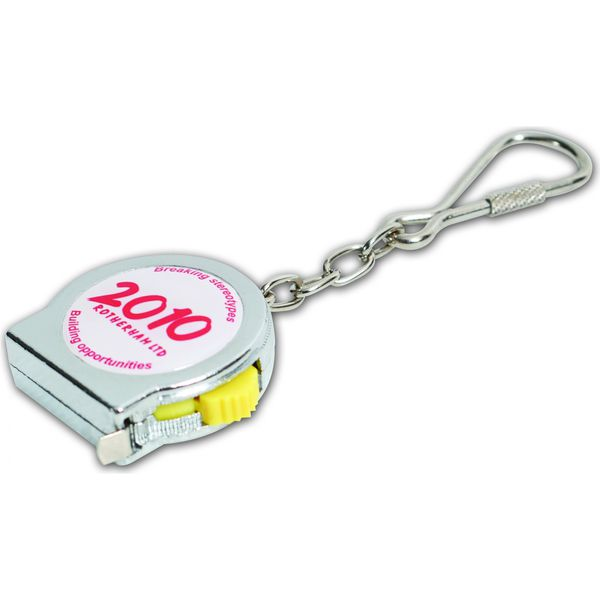 10877: 1m Keyring Tape Measure