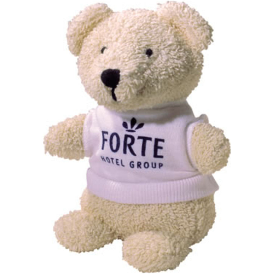 10950: 5 Inch Beanie Bear And T-shirt