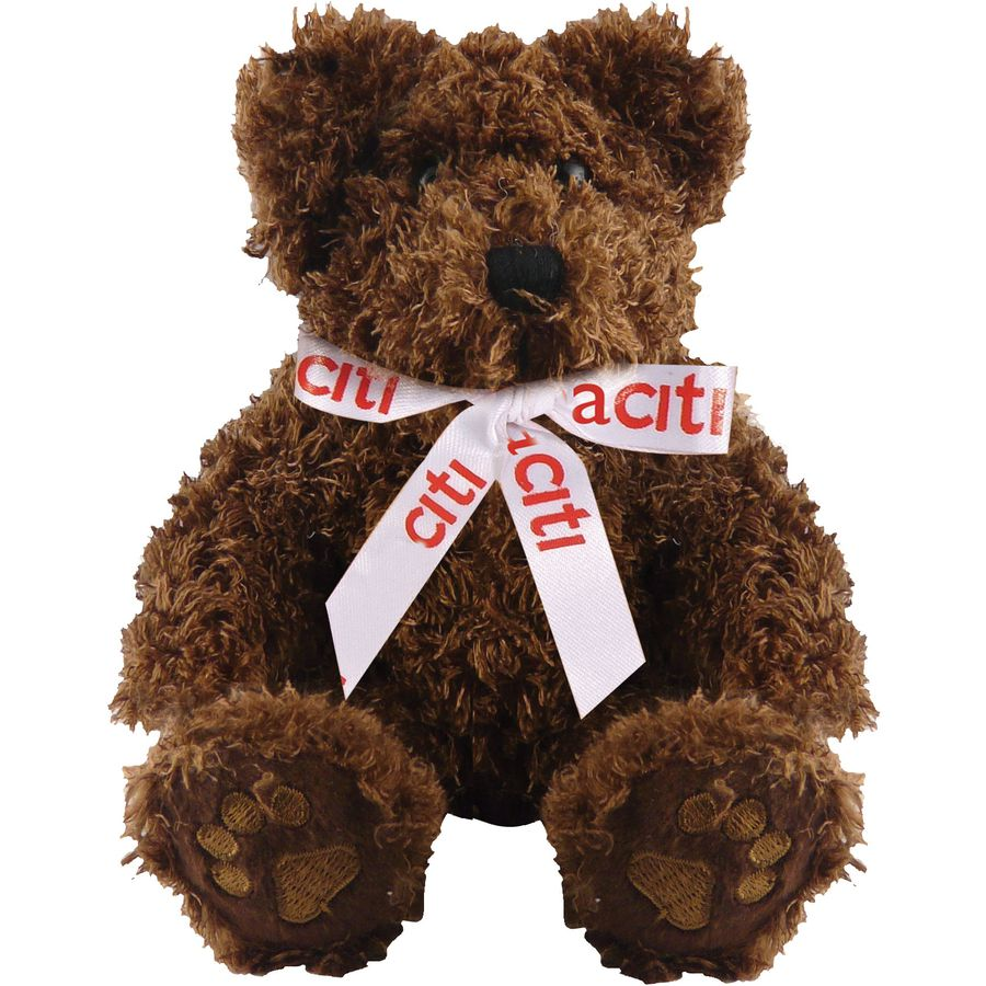 10951: 5 Inch Charlie Bear With Bow