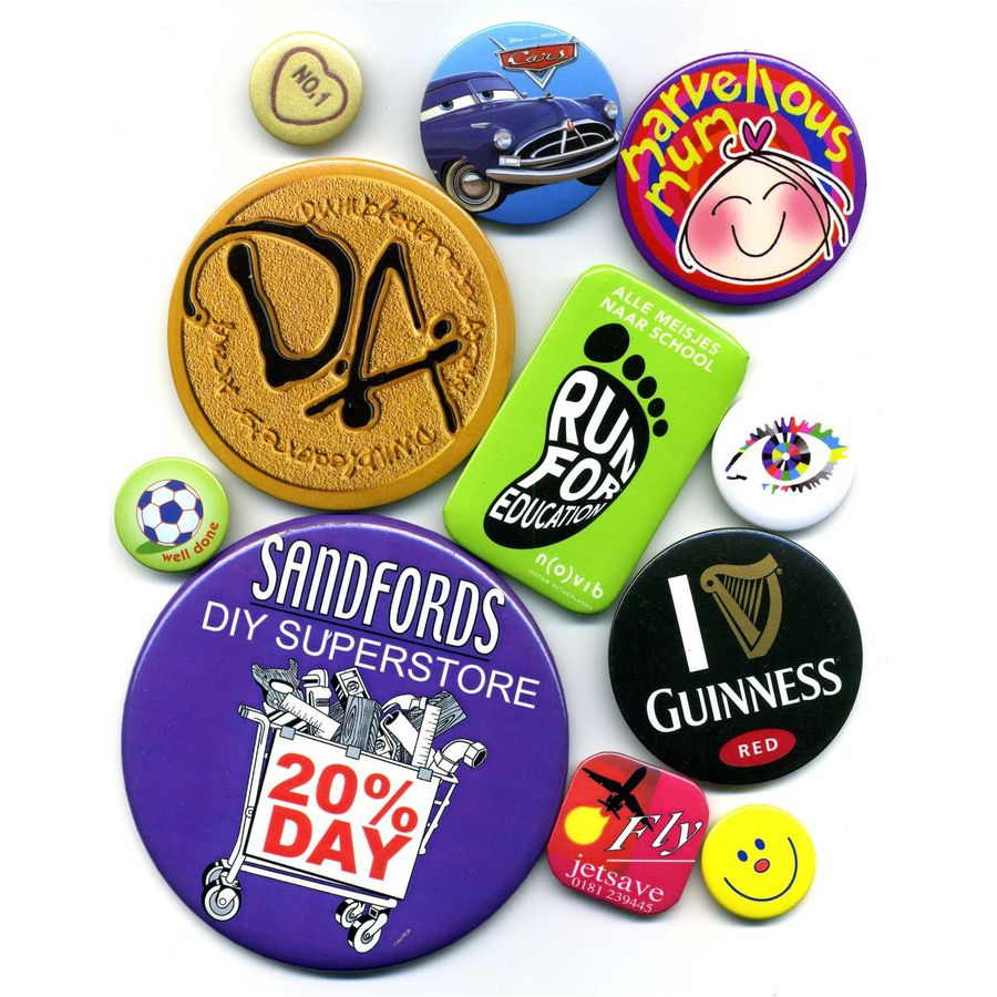 10981: 38mm Button Badge