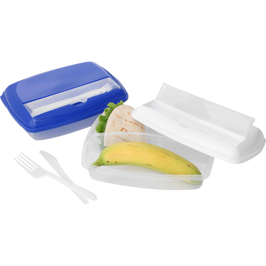 11018: 3 Compartment Lunch Box