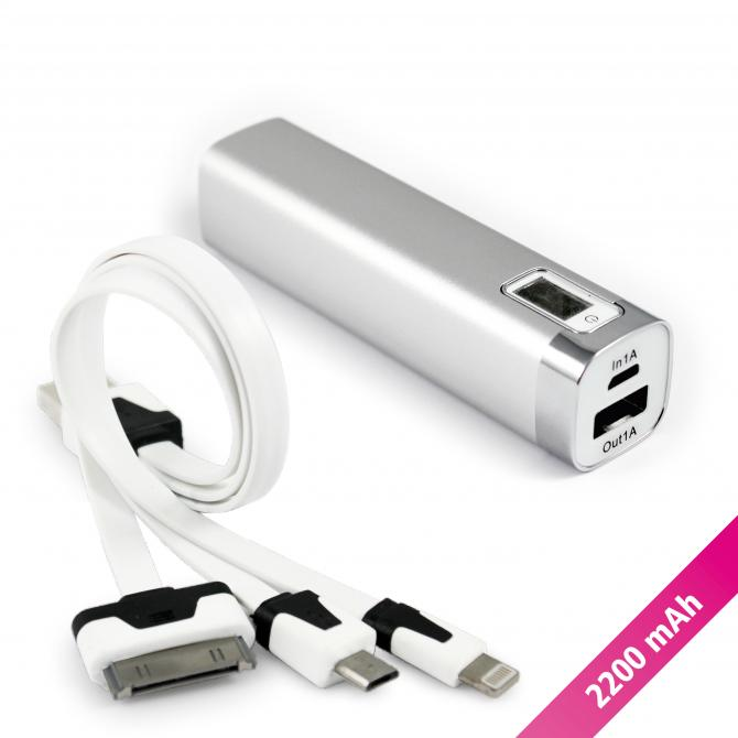 11095: Bar Powerbank - 2200mAh