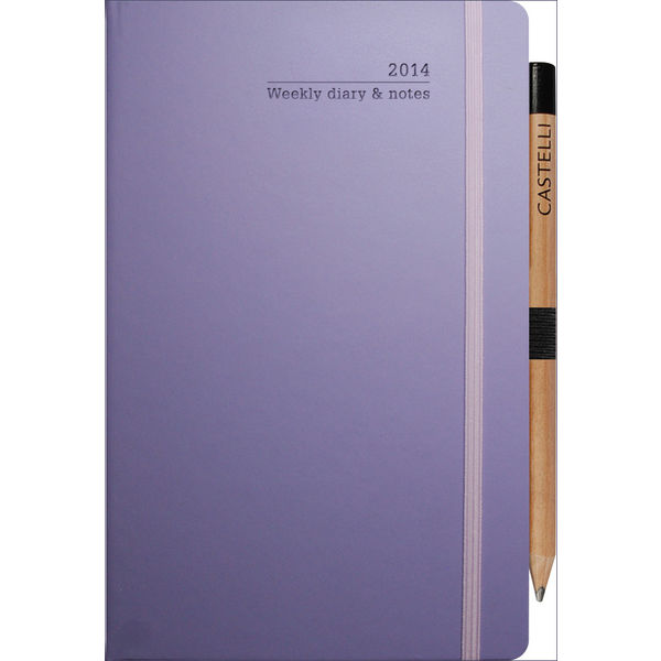 12072: Ivory Medium Weekly Diary Matra