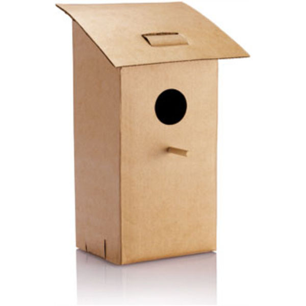 12081: Foldable bird house