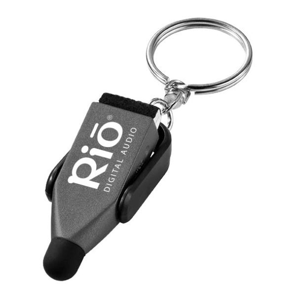 13372: Arc stylus and screen cleaner key chain