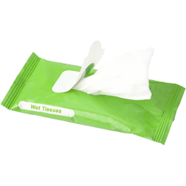 15274: 10pk Wet Tissue Wipes