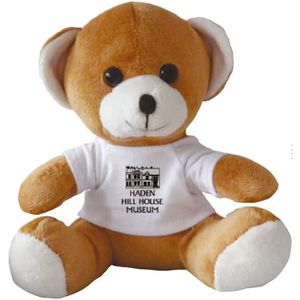 "15493: 10"" Jay Jay Bear With White T Shirt"