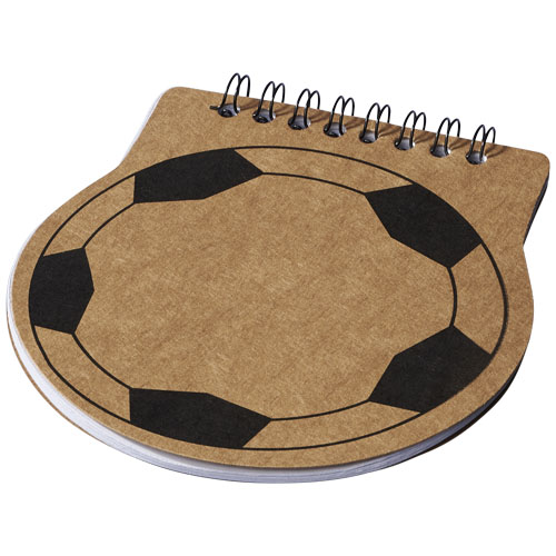 15758: Football Shaped Notebook