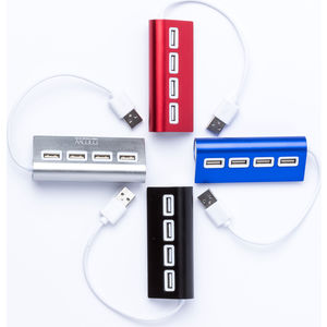 15895: 4 Port Usb Aluminium Alloy Hub