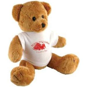 "15985: 10"" Robbie Bear With T Shirt"