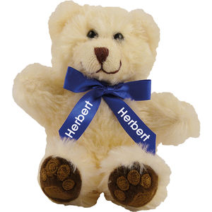 "15987: 5"" Chester Bear With Bow"