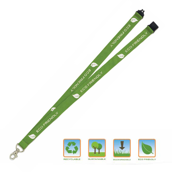 16176: Eco-Friendly Lanyard