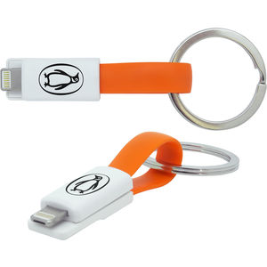16410: 2-in-1 Keyring Charging Cable
